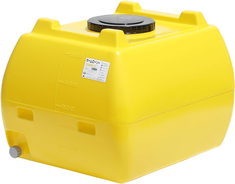 スイコー ホームローリータンク 500L (レモン) B00IIJG4G4 10746  黄