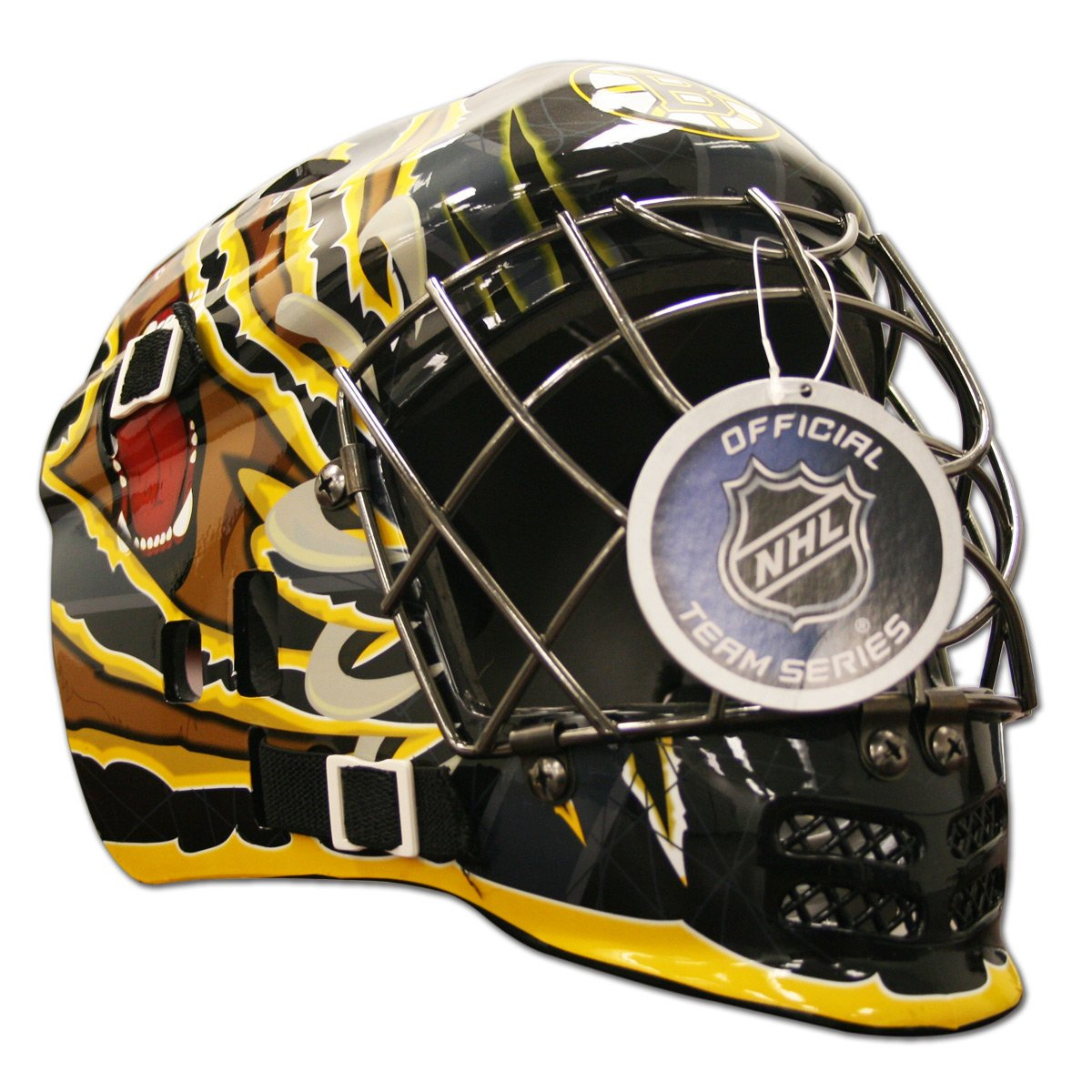 Franklin Sports NHL Boston Bruins SX Comp GFM 100 Goalie Face Mask by Franklin Sports (Image #2)
