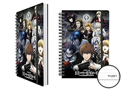 Death Note Collage Nota libro A5 diario con forro: Amazon.es ...