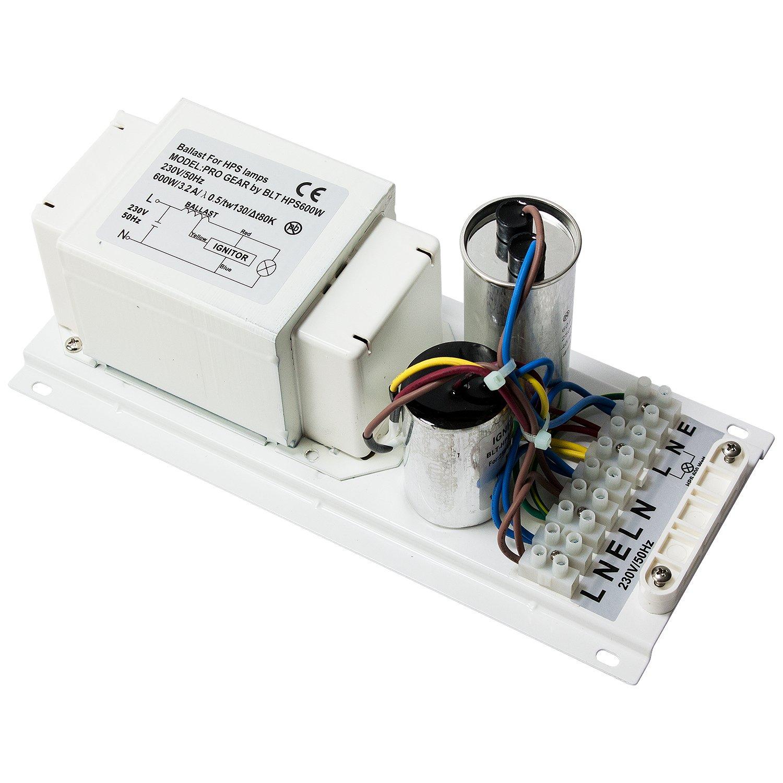 600 W Watt Pro Gear Vorschaltgerät VSG für Natriumdampflampen SON ...