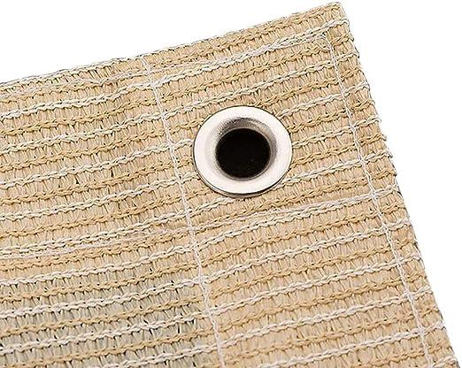 Tela Sombra ZAY Paño de Sombra Al Aire Libre para Patio Pergola Porche Techo Cubierta de Cobertizo para Coche, Rectángulo Toldo de Polietileno de Alta Densidad con Ojales (Size : 3M×5M): Amazon.es: