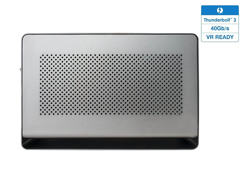 Mantiz Venus MZ-02 External Graphic Enclosure eGPU- Thunderbolt 3  MacOS/Windows/Intel Thunderbolt Certified External Graphic Box with SATA  Interface,