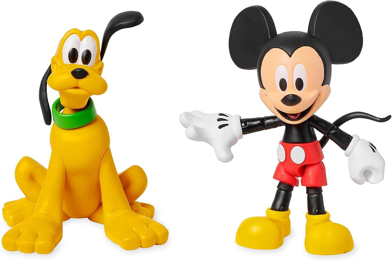 Disney Mickey Mouse y Pluto Juego de Figuras de acción Toybox: Amazon.es: Juguetes y juegos