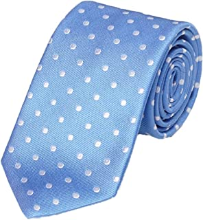 product image for Gitman Bros Blue with Woven White Dots Tie