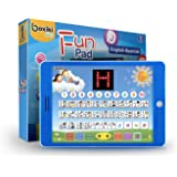 Spanish-English Tablet / Bilingual Educational Toy with LCD Screen Display. Touch-and-Teach Pad for Children. Learning Spanis