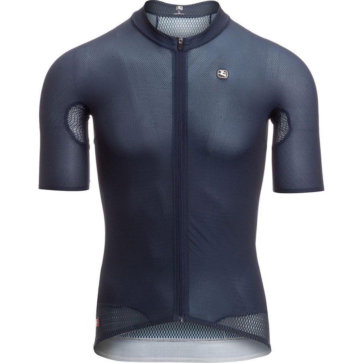 Giordana fr-c半袖Pro Lyte Jersey – Men 's B07B4L93GZ Large|ネイビー ネイビー Large