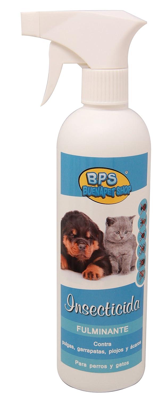 BPS (R)) Spray Insecticida, Fulminante, Insecticide Spray para Perro, Gato BPS-4266: Amazon.es: Deportes y aire libre