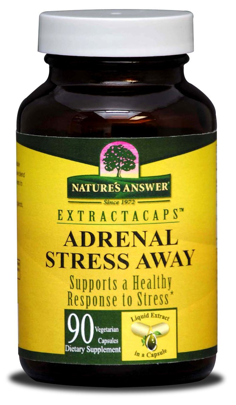 Nature'S Answer Adrenal Stress Away 90 Lcap