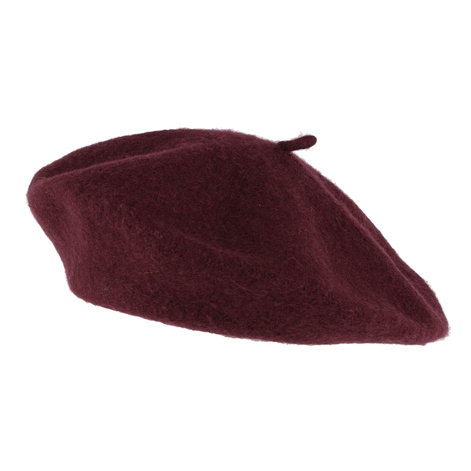 Hat To Socks Wool Blend French Beret for Men and Women in Plain Colours
