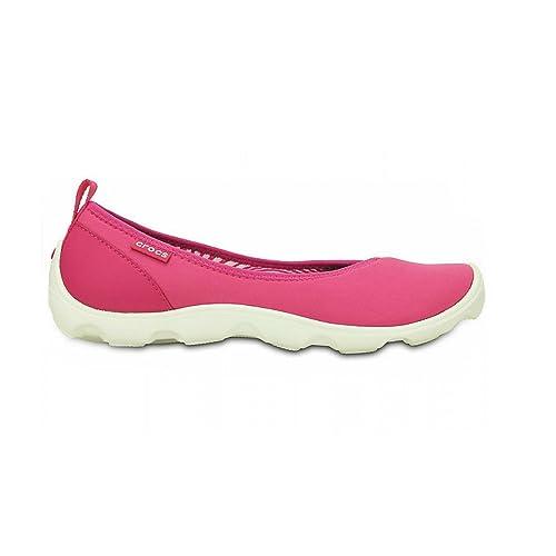 Crocs Zapatillas Deportivas Sin Cordón Modelo Duet Busy Day Para Mujer (37 EU/Rosa