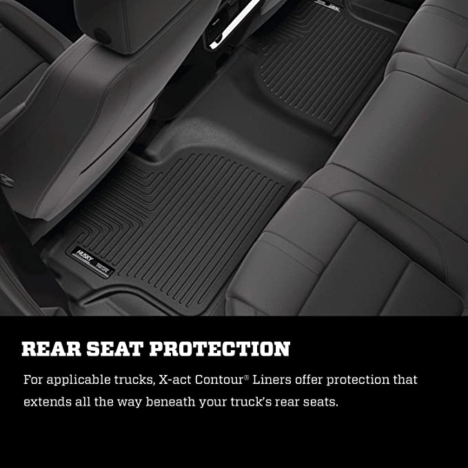 with 2nd Row Bucket Seats X-act Contour 3rd Seat Floor Mat 2018-20 Chevrolet Traverse Husky Liners Fits 2018-19 Buick Enclave