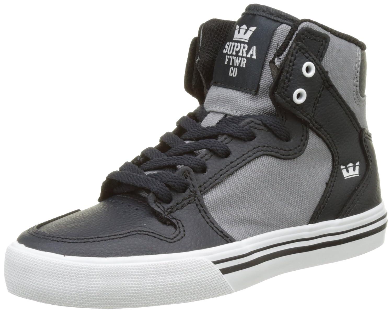 Supra Mens Skytop III Shoes 6 Big Kid M Dark Grey/Grey/White