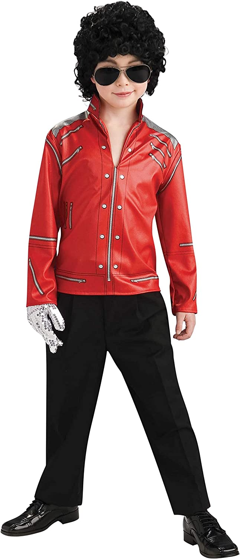 Rubbies - Disfraz de Michael Jackson Halloween para niño, talla M ...