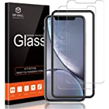 MP-MALL 3-Pack Screen Protector Compatible for iPhone 11 6.1-inch and iPhone XR Tempered Glass, Alignment Frame Installation,
