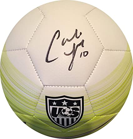 Carli Lloyd Autographed Signed USA Nike Soccer Ball Womens World Cup Auto  Gtsm Hologram at Amazon s Sports Collectibles Store d3ecd3113