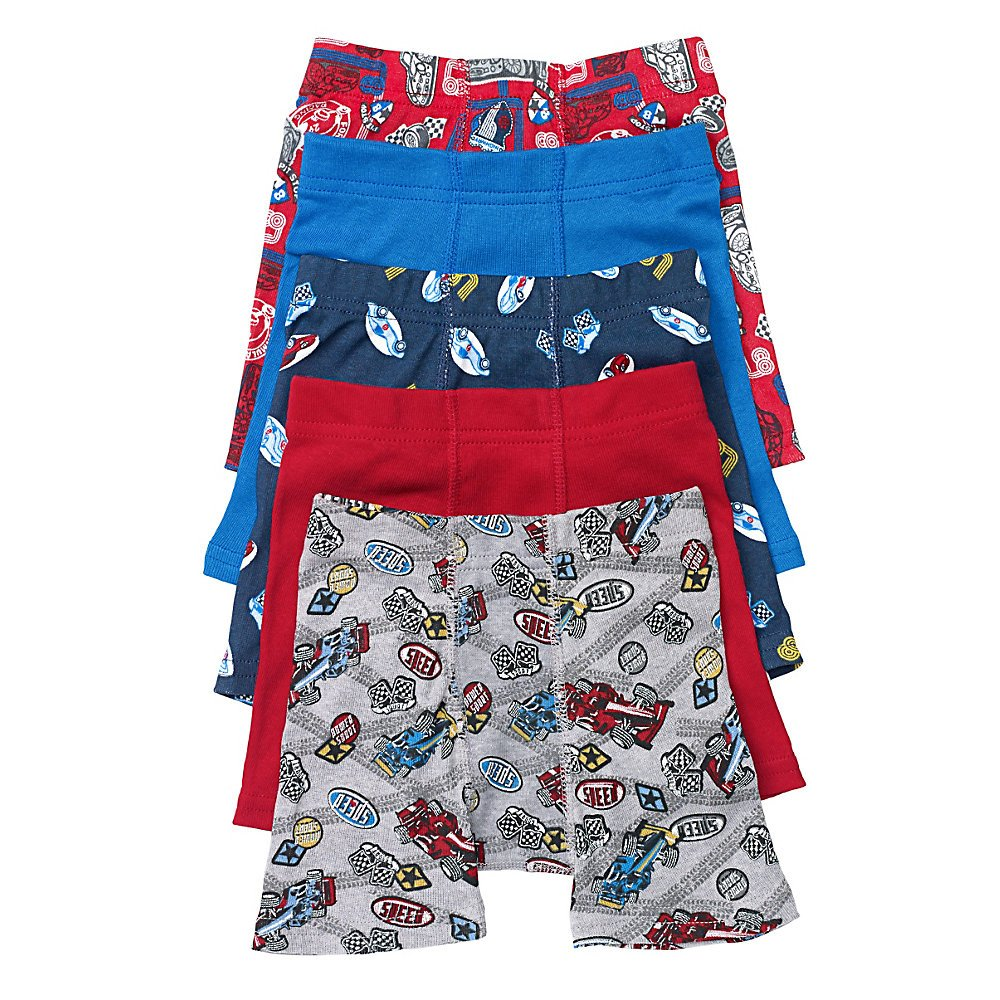 Hanes by Toddler Boys Printed Boxer Briefs_Assorted_2-3
