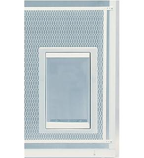 Amazon m d building products 33621 30 inch by 36 inch patio ideal pet doors screen guard pet door planetlyrics Gallery