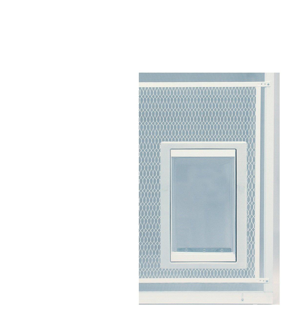 Ideal Pet Türen Displayschutzfolie Pet Tür, extra große, 26,7x 38,1cm Lasche Größe