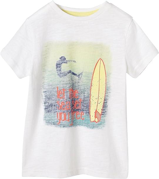 VERTBAUDET Camiseta para niño con Estampado fotográfico Surf: Amazon.es: Ropa y accesorios