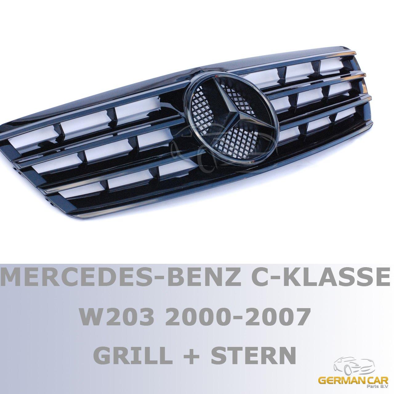 GermanCarParts GCP-203071-G Grill Glanz Schwarz