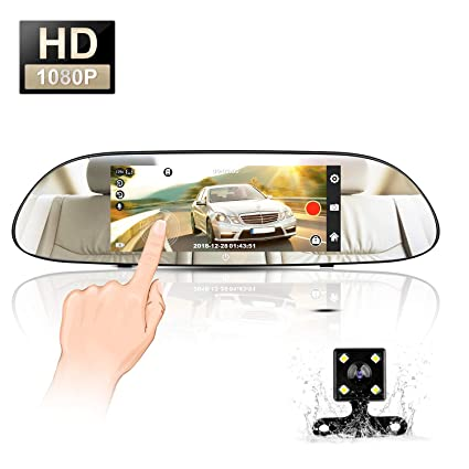 Rear View Monitors/cams & Kits Responsible Car 6 Led Ir Hd Rear View License Plate Parking Reverse Backup Reversing Camera Car Video