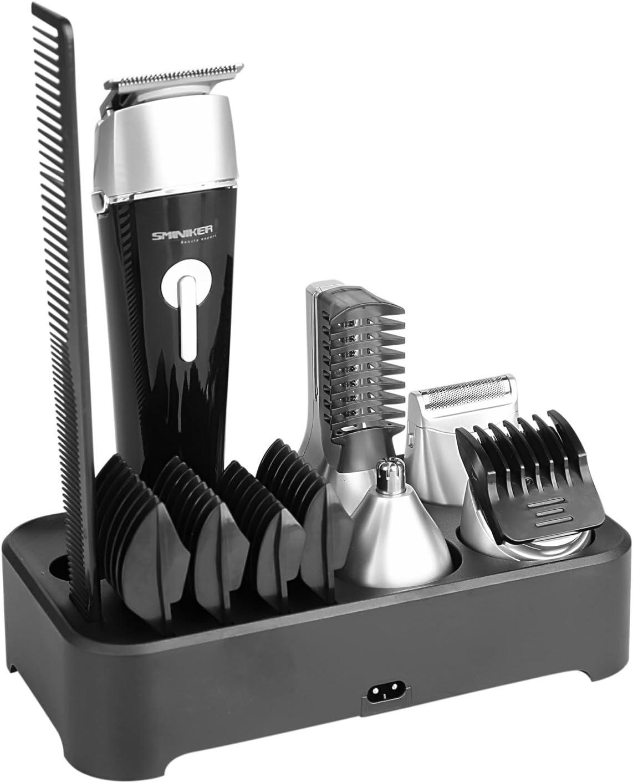 Sminiker - Maquinilla de afeitar multifunción 5 en 1, maquinilla ...