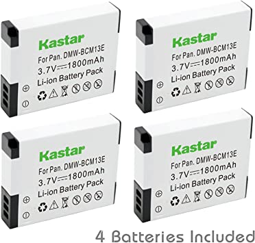 Wasabi Power Battery Charger for Panasonic DMW-BCM13 DMW-BCM13PP
