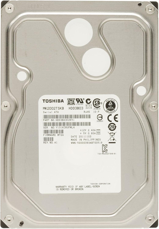 Toshiba Mk2002tskb P N Hdd3b03czk51 F W Mt2a 2tb Computer Zubehör