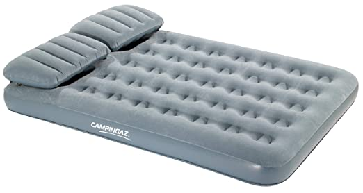 Campingaz Smart Quickbed Double Colchón Inflable, Unisex, Azul, 135 x 200 cm: Amazon.es: Deportes y aire libre
