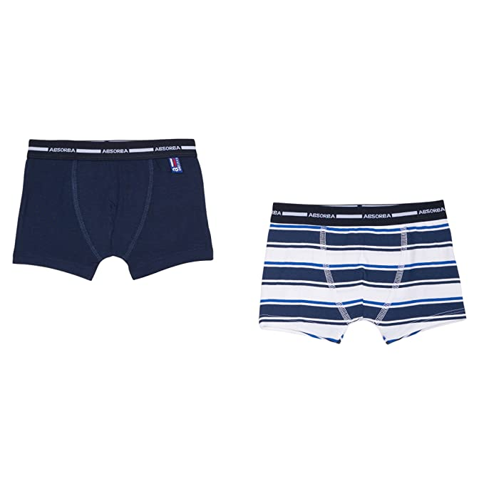 Adorel Boys Boxers Shorts Underwear Pure Cotton Pack of 6