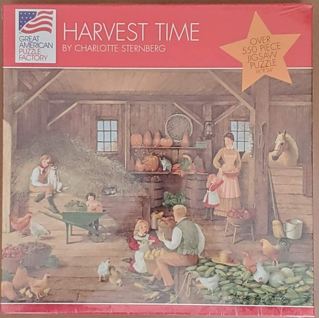 Over 1000 Piece Jigsaw Puzzle Great American Puzzle Factory; Vanishing Prairie