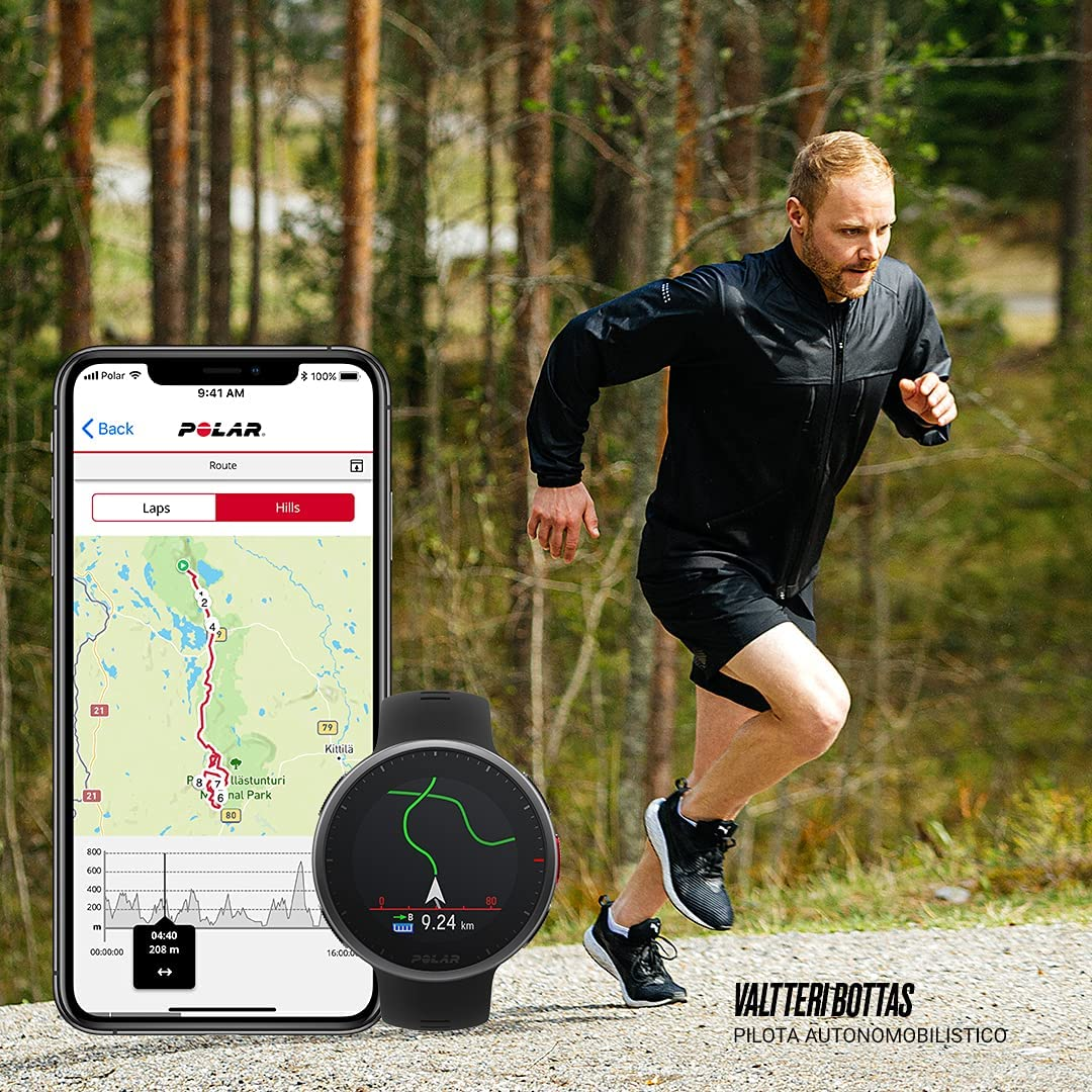 Cycling Swimming Strength Training POLAR Vantage V2 Wrist-Based Heart Rate Measurement for Running