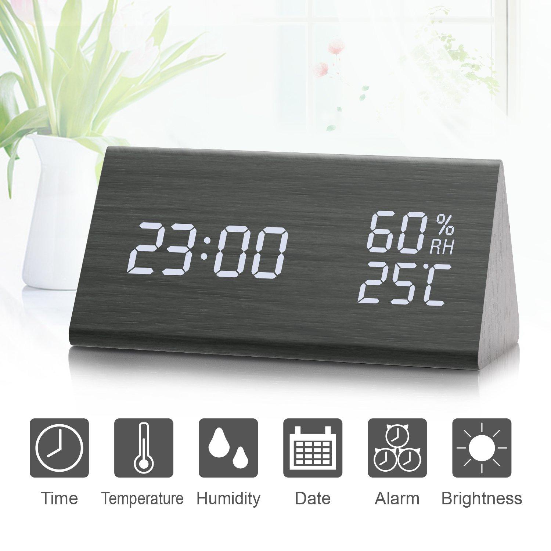 Atomic Digital Wall Clock at Brookstone—Buy Now!