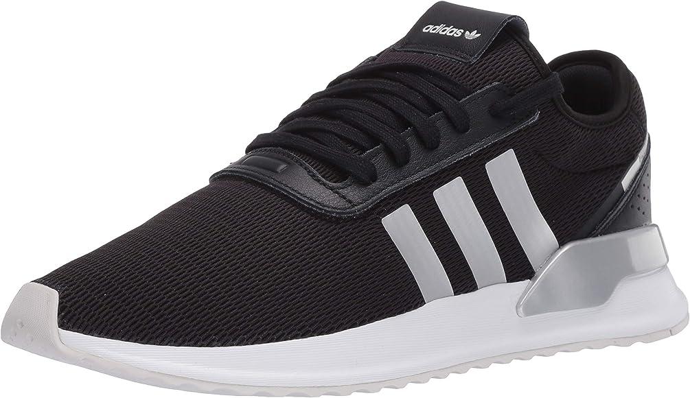 X Sneaker, Black/Silver Metallic/White