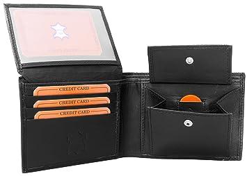 Portefeuille En Cuir Pour Homme Porte Monnaie Porte Cartes - Porte feuille cuir homme