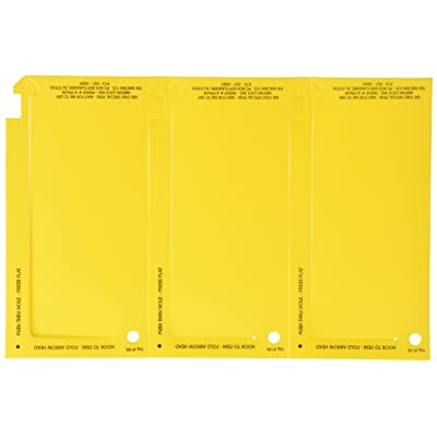 Macray 188 Yellow Arrow Lock Tag: Automotive