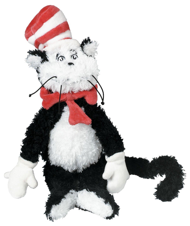 Manhattan Toy Dr Seuss - Peluche - Cat in the Hat - Petit 101910