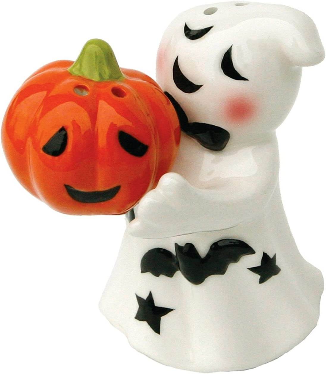 Halloween Ghost Salt and Pepper Shakers