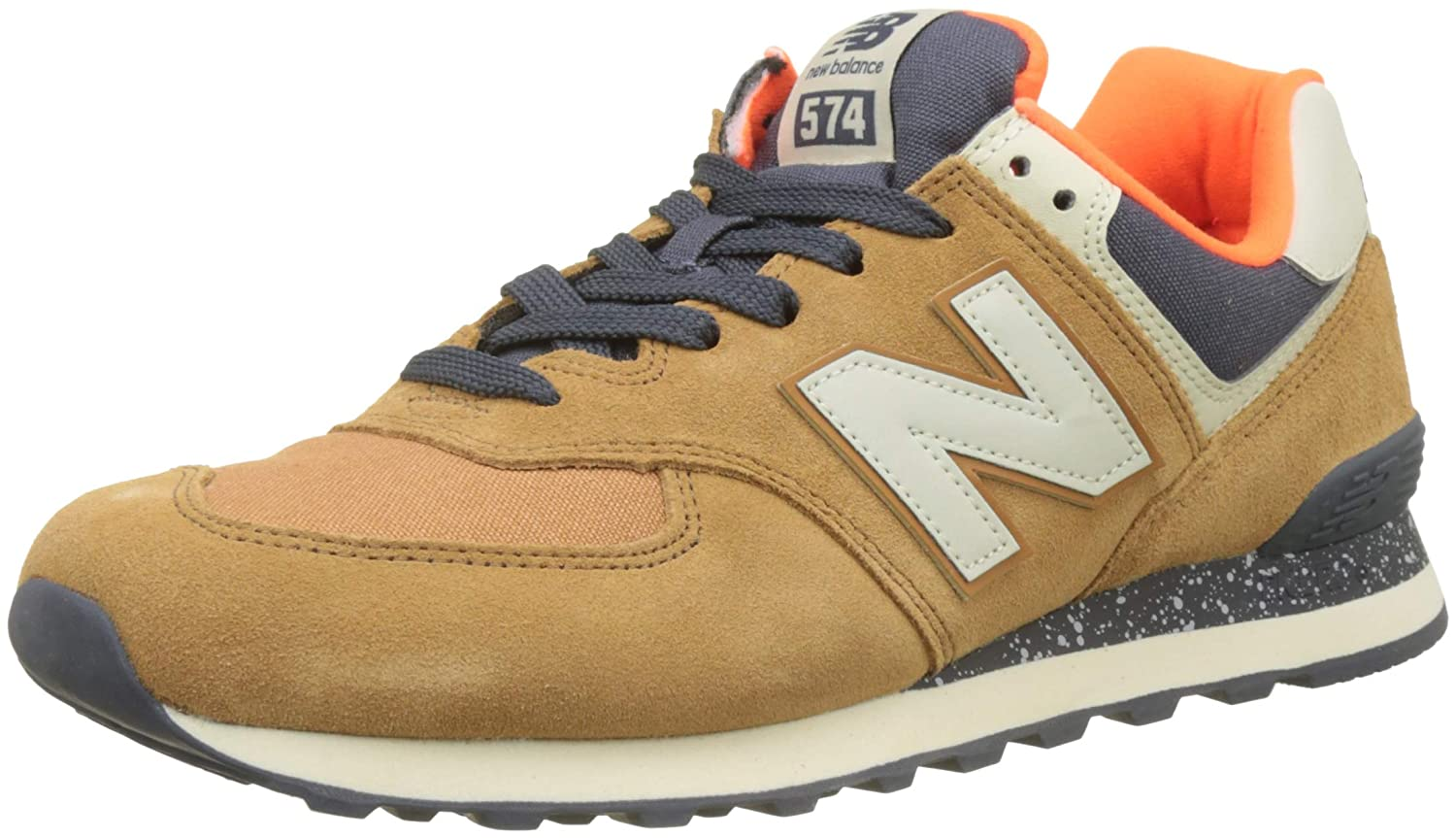 New Balance Herren Ml574E / Sneaker, Braun / Ml574E Orange 57f597