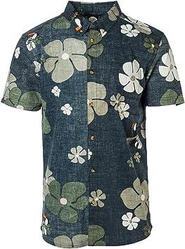 Rip Curl Tropicool - Camisa para Hombre, Hombre, Camisa, CSHEG4, Negro, Small: Amazon.es: Ropa y accesorios