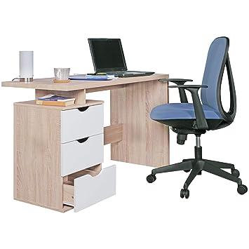 Wohnling Schreibtisch Design Burotisch Schublade Tisch Computertisch