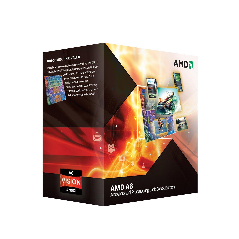 Processeur accéléré quadricoeur AMD A6-3670 avec graphique dédié AMD RadeonTM HD 6530D - Socket FM1