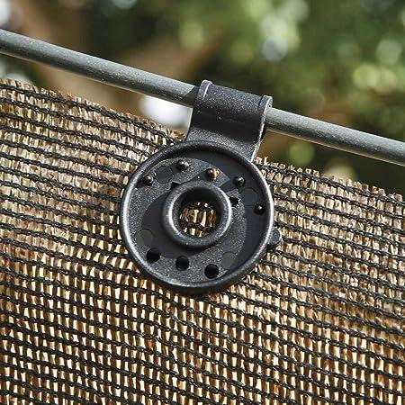 clip fijacion para malla sombreo pack 10 uds, Catral 22020009: Amazon.es: Jardín