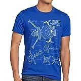 style3 Future Comet Herren T-Shirt Captain