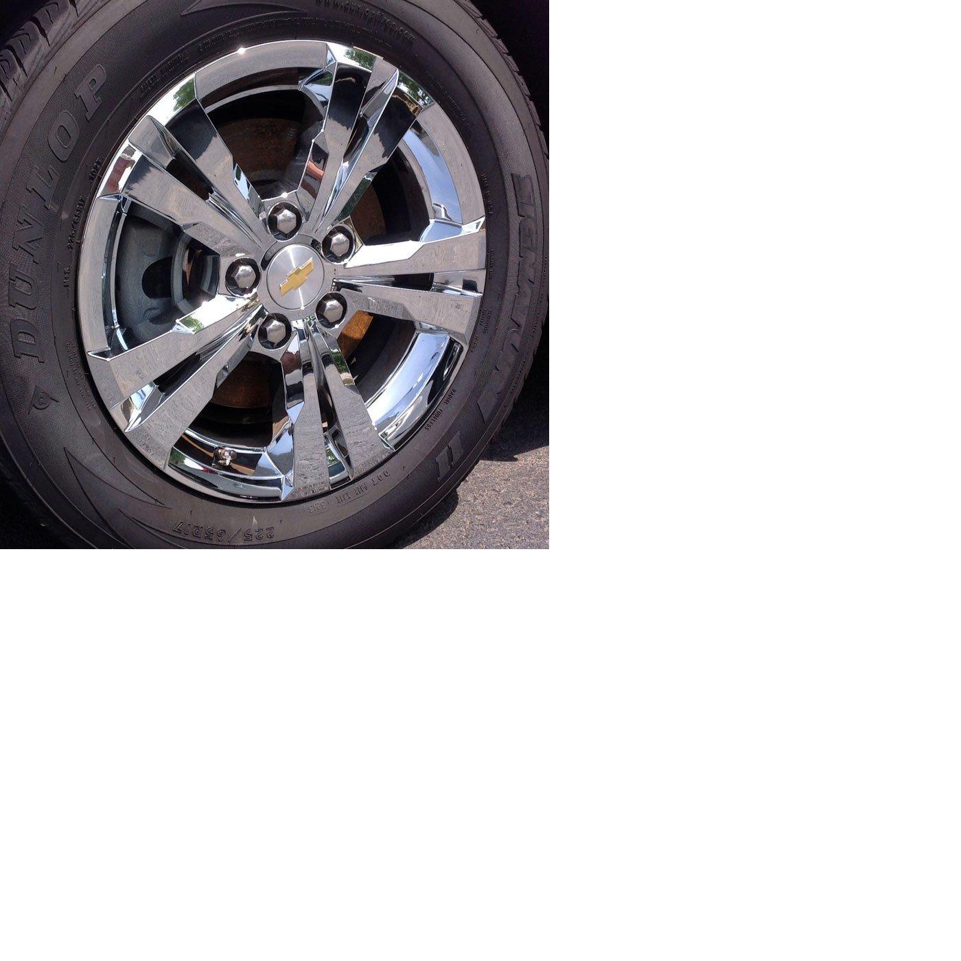 2012-2014 Chevrolet Equinox Chrome Wheel Skins 17-4PC