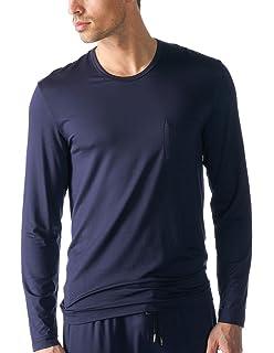 ea8f9fc96a6d4 Mey Men 18460-174 Lounge Pantalon De Pyjama À Rayures Bleu Indigo ...