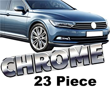 KS1337 - Complete Chrome Kit 23 Pieces) Chrome Suitable for