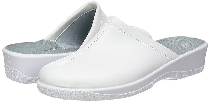 Rondinaud SharonA006381 Zoccoli Donna Bianco Blanc 60 36 EU Scarpe