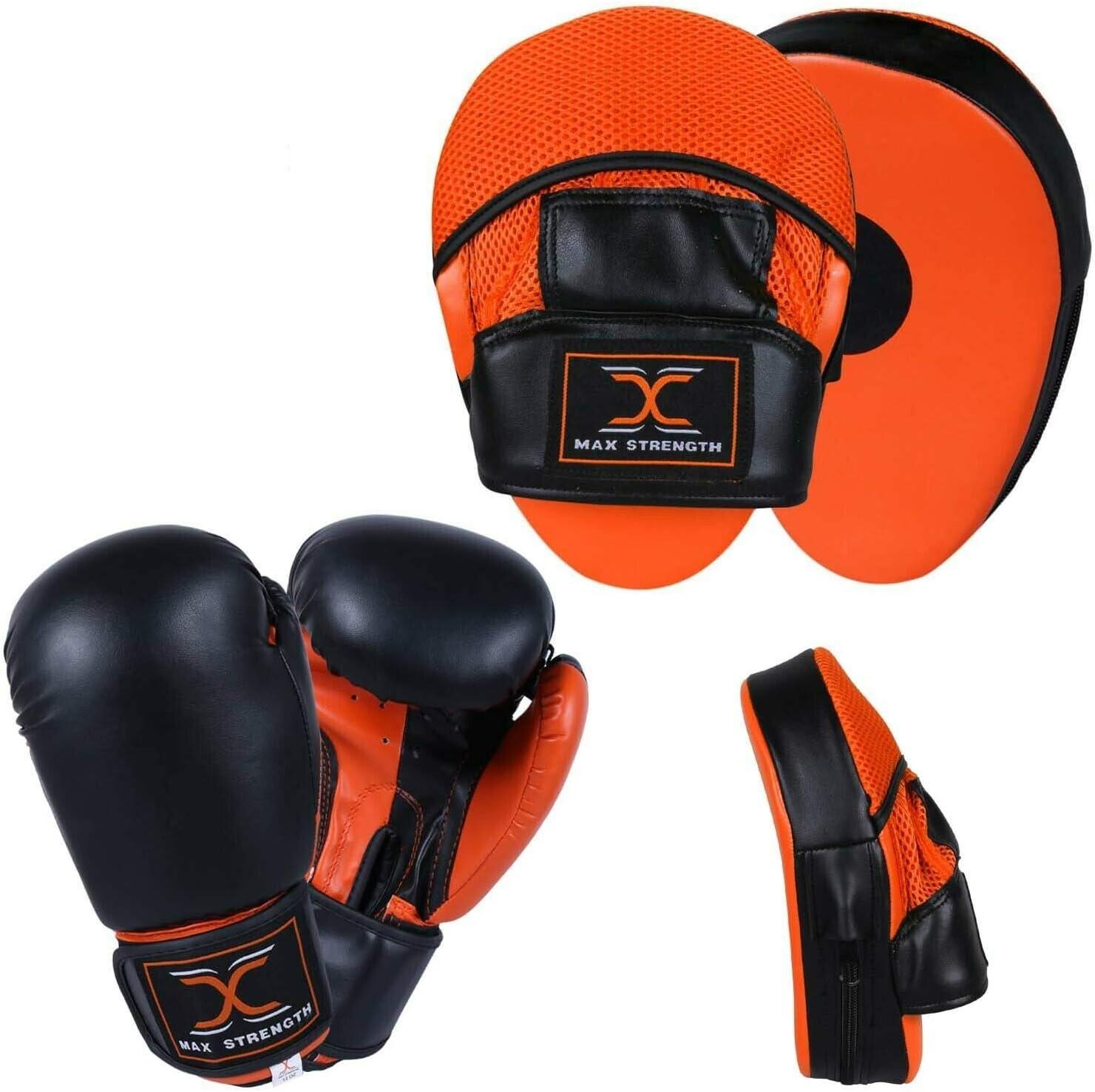 Kick Curved Pads Mitts,Hook and Jab Punching Kick Boxing Muay Thai MMA UK Pad