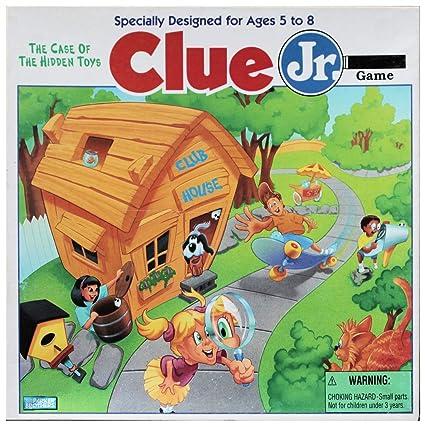 Amazon Clue Jr The Case Of The Hidden Toys 1995 Vintage
